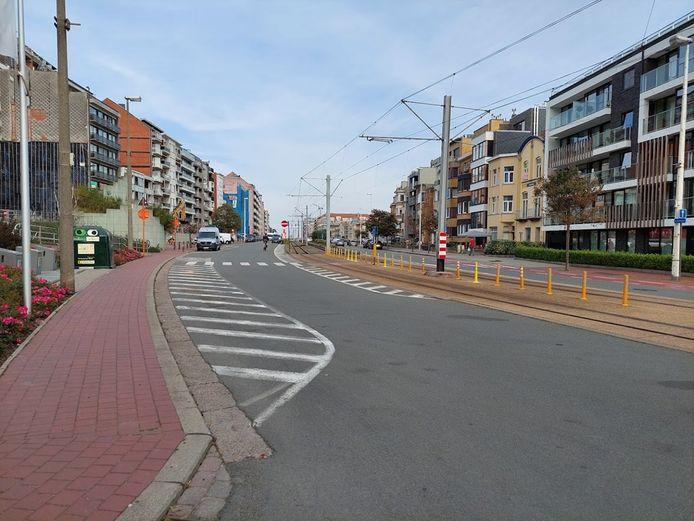 De Ruzettelaan in Blankenberge wordt heraangelegd.