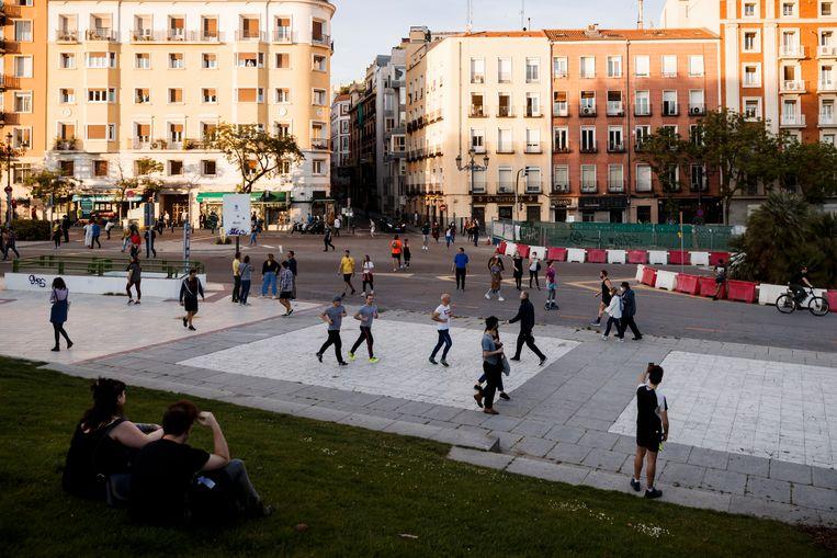 Madrid, afgelopen weekend. Beeld Getty Images