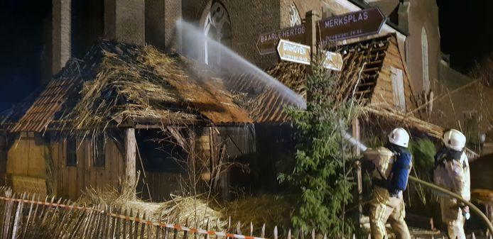 Op 1 januari 2019 brandde de kerststal van Zondereigen uit.