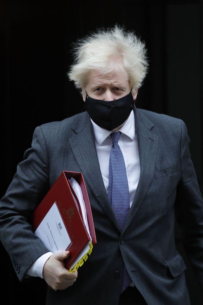 Le premier Ministre Boris Johnson.