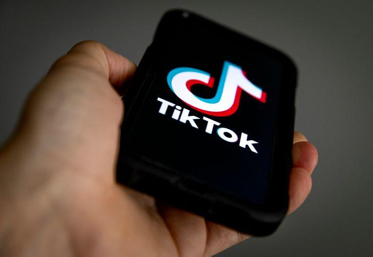 Een dansje filmen en uploaden naar TikTok is heel iets anders dan de valkuilen van het internet goed kunnen inschatten. Beeld ANP