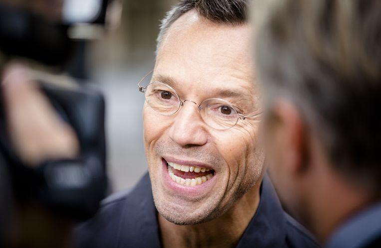 Programmamaker Hans Goedkoop van het tv-programma Andere Tijden. Beeld ANP