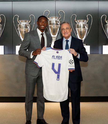 Alaba gaat 115 miljoen euro verdienen bij Real Madrid