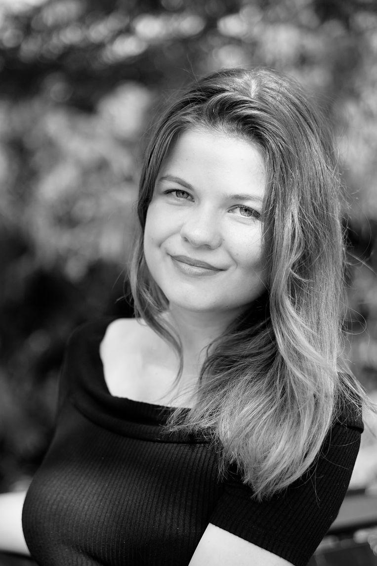 Lotte Krakers, neerlandica en schrijver. Beeld Britt Bennink