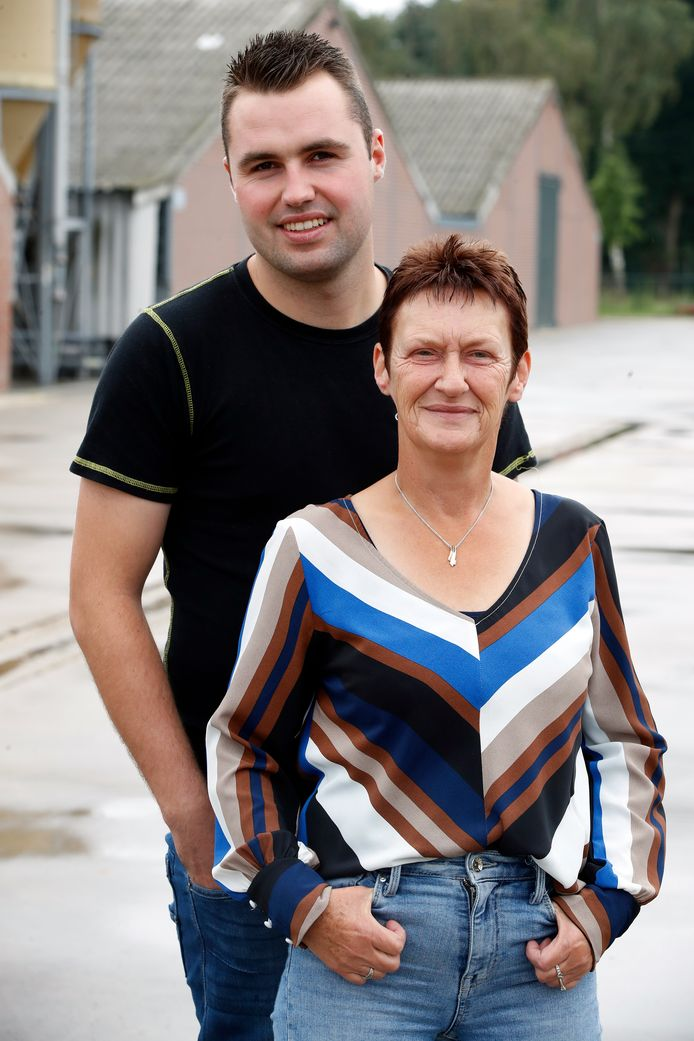 Boer Frits en moeder Christiane
