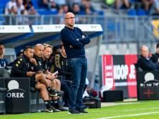 Willem II-trainer Fred Grim: 'Nu niet naast onze schoenen gaan lopen'