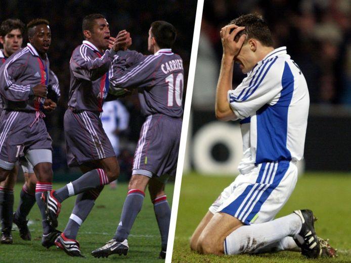 In 2001-2002 maakte Club Brugge kennis met Sonny Anderson van Lyon (zie lager op deze pagina).