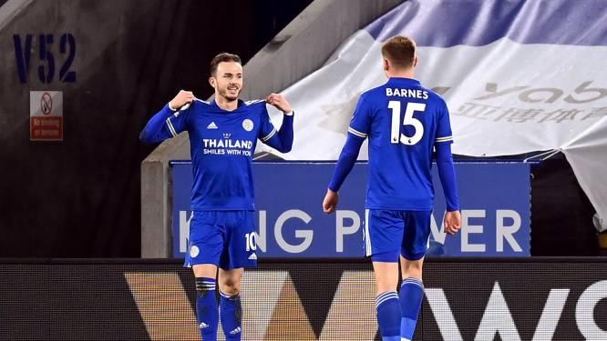 Leicester City (voor even?) op kop in Premier League na thuiszege tegen Chelsea