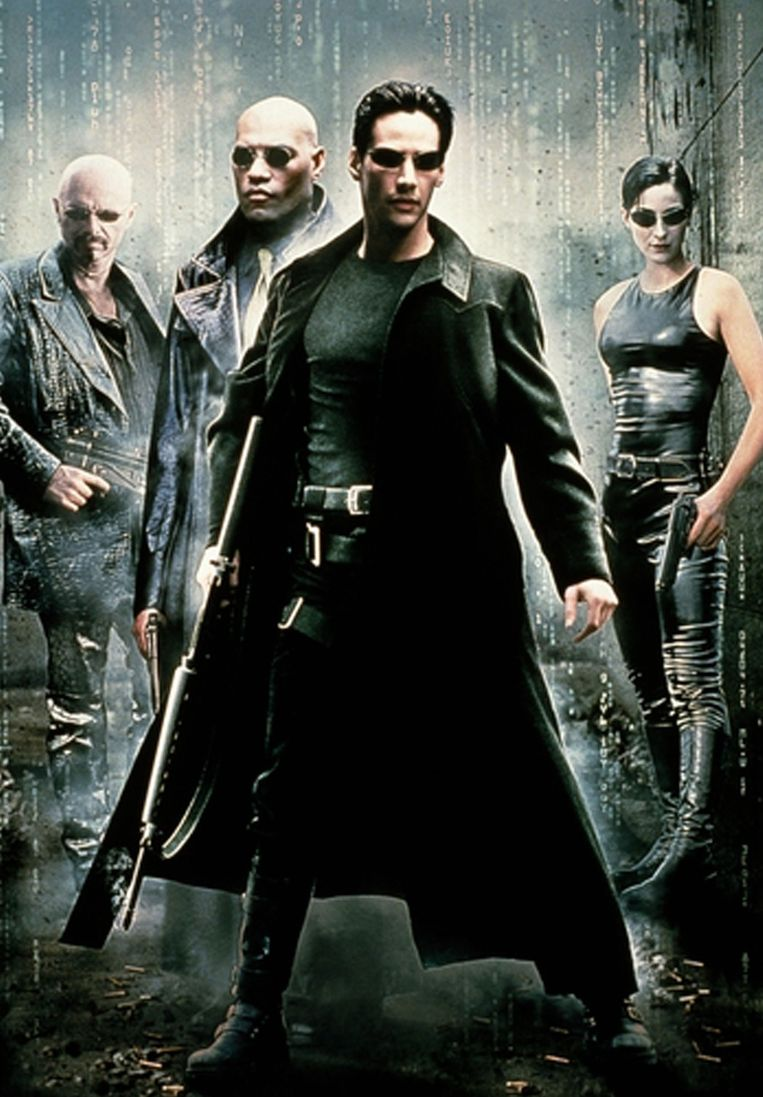 Poster van de film 'The Matrix'.