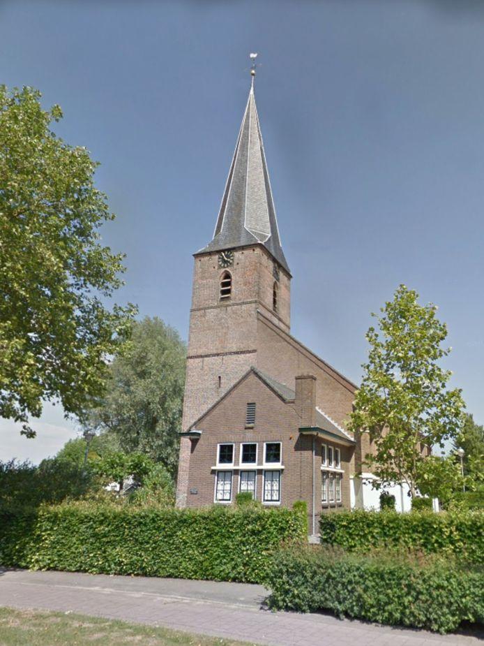 De dorpskerk in Voorthuizen.