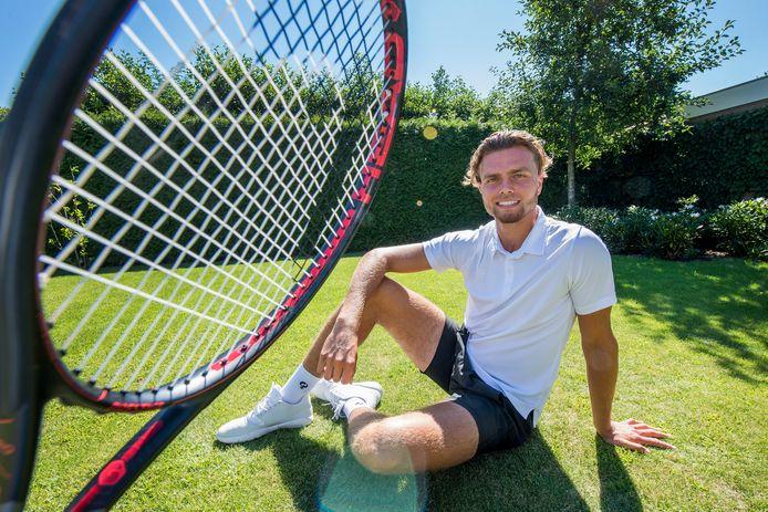 Tiel 31/07/2020 Tennisser Aloys van Baal iov Gelderlander Foto Raphael Drent