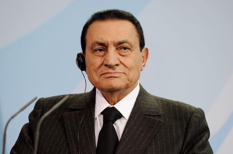 Archiefbeeld van Moebarak uit 2010 Beeld Alina Novopashina/dpa