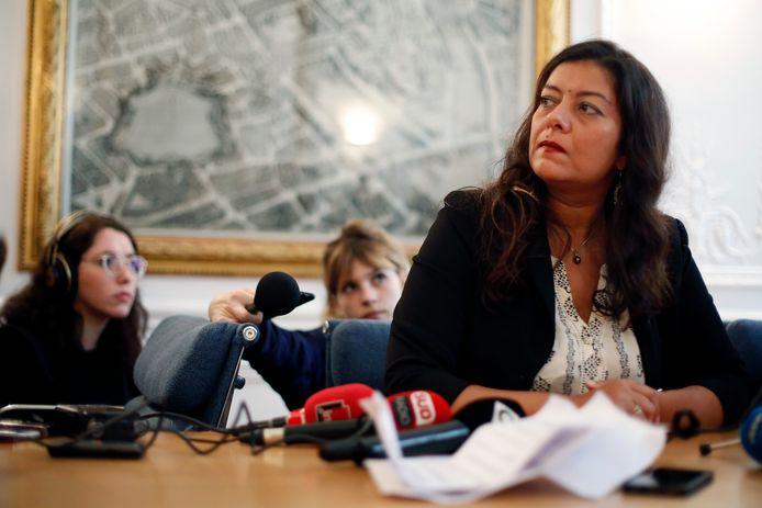 La journaliste française Sandra Muller