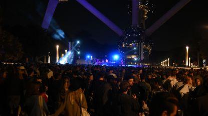 Atomium sluit zomer af met gratis technofeestje