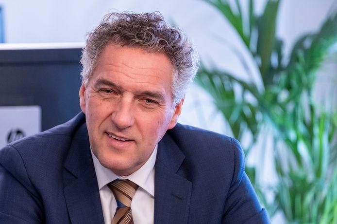 Hans Teunissen, burgemeester van de gemeente Gennep.