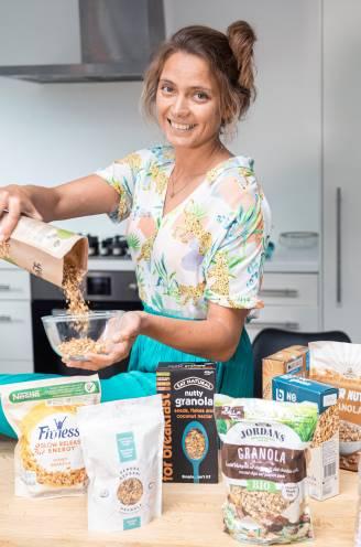 Welke granola uit de supermarkt is het gezondst? Diëtiste Sanne Mouha test twaalf merken