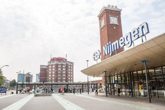 Centraal station in Nijmegen.