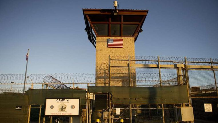Kamp 6 van de gevangenis Guantanamo Bay op Cuba. Beeld afp
