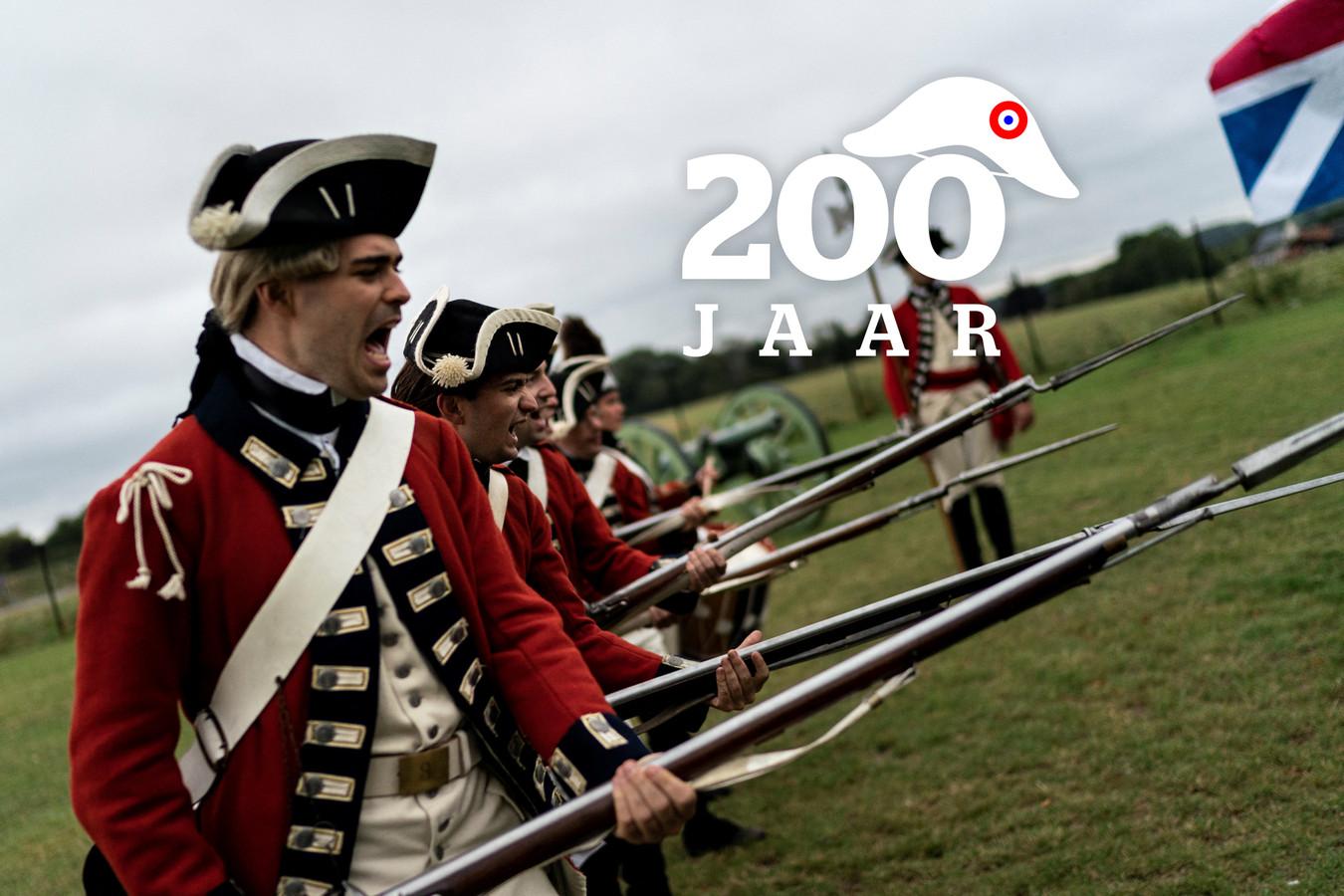 De Slag bij Waterloo.