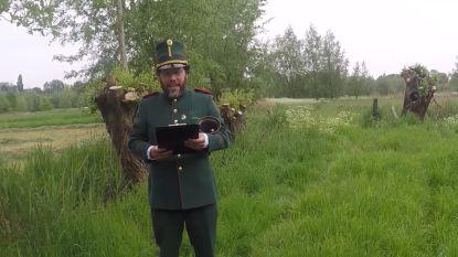 """Lokerse bellemannen spreken videoboodschap in om 75 jaar einde Tweede Wereldoorlog te vieren: """"Wereldwijde actie"""""""