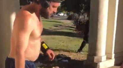 """Jogger verwoest slaapplaats van dakloze: """"Het is smerig en ruikt naar urine"""""""