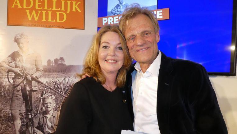 Auteur Maarten van Nispen met zijn vrouw Joyce van Nispen Beeld Hans van der Beek