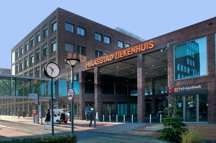 Hoofdingang van het Maasstad Ziekenhuis Rotterdam.