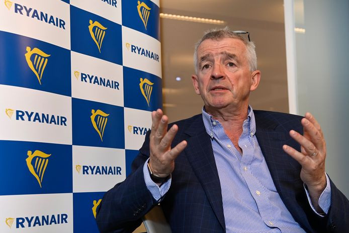 Michael O'Leary, CEO van Ryanair.