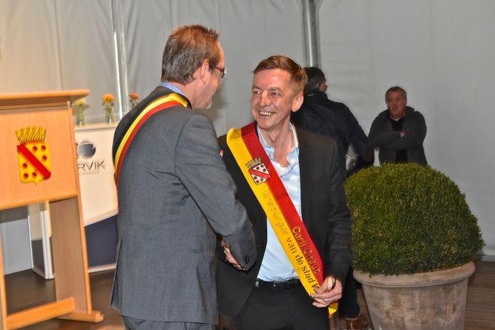In april werd Carll Cneut officieel aangesteld tot ereburger van de stad Wervik