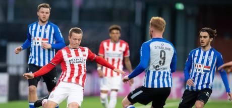 FC Eindhoven kan nimmer een vuist maken tegen Jong PSV en verliest de derby