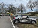 Ongeluk op de N65 bij Helvoirt.