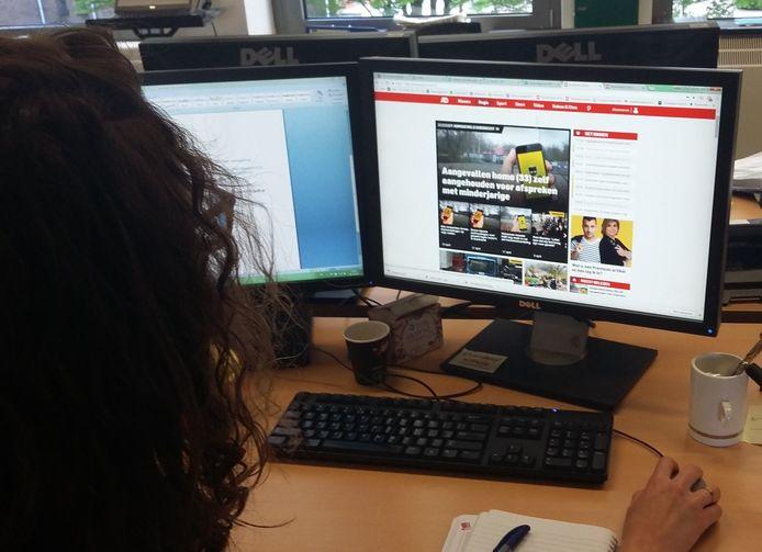Als onlineredacteur ben je verantwoordelijk voor de website.