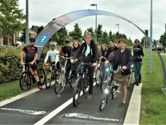 Vernieuwde fietssnelweg is ingereden: meer comfort, verhoogde veiligheid en maximaal voorrang op auto's