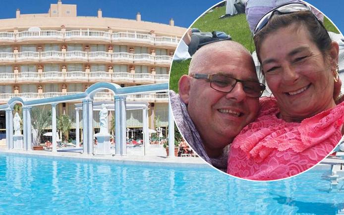 Voor Rob (51) en Vera (55) Verhoeven zat hun huwelijksreis er al na één dag op.