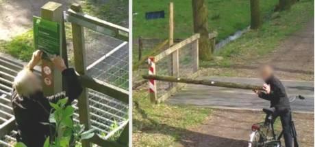 Verdachte van vernielingen in natuurgebied De Scheeken bij Liempde meldt zich bij politie