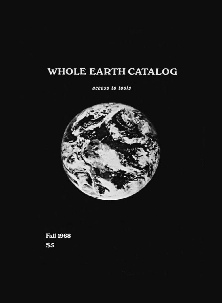 Whole Earth Catalog '68. Beeld Whole Earth Catalog