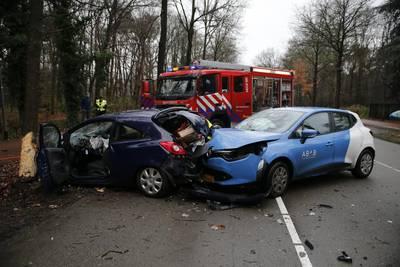 Vrouw gewond bij ongeluk in Teteringen