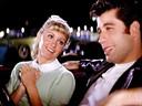 Olivia Newton-John en John Travolta als Sandy en Danny in de cultfilm 'Grease'.