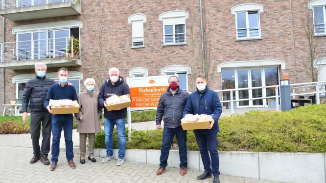 Rotaryclub Gaasbeek – Pajottenland bakt mattentaart voor zorgverleners