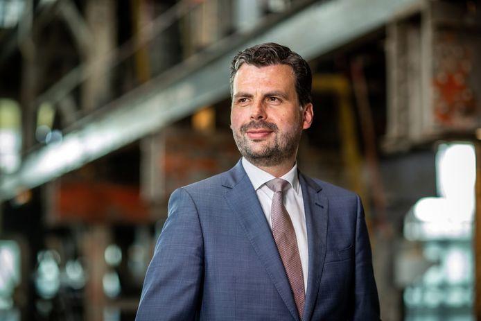 Wethouder Berend de Vries (D66).