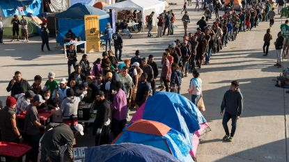 Verenigde Staten willen asiel weigeren aan migranten die op doorreis komen uit Mexico