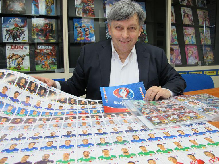 Fabrizio Melegari, directeur van Panini Group. Beeld BELGAIMAGE
