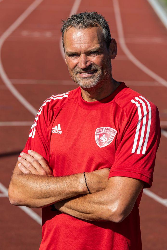 Eduard Leusink richtte in Almelo sportvereniging voor mensen met beperking Only Friends Twente op.