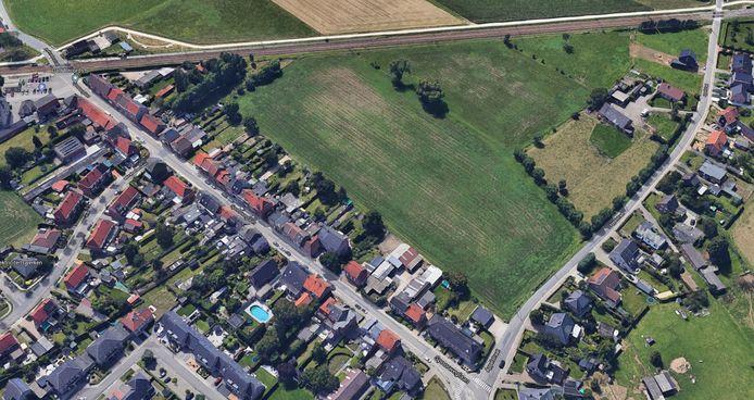 De verkaveling komt in de groene driehoek tussen de Spoorweglaan, Appelstraat en spoorweg.