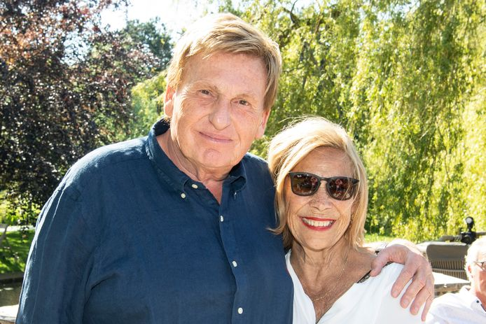 Henny Huisman en partner Lia.