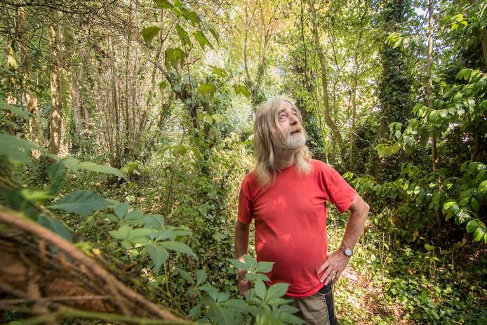 Piet van Rheenen is voorzitter van de Belangengroep Behoud Bos van Braaksma.