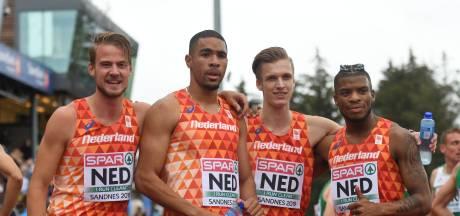 Sprinter Terrence Agard (31) maakt na slepende blessure zijn rentree op de 4 x 400 meter estafette