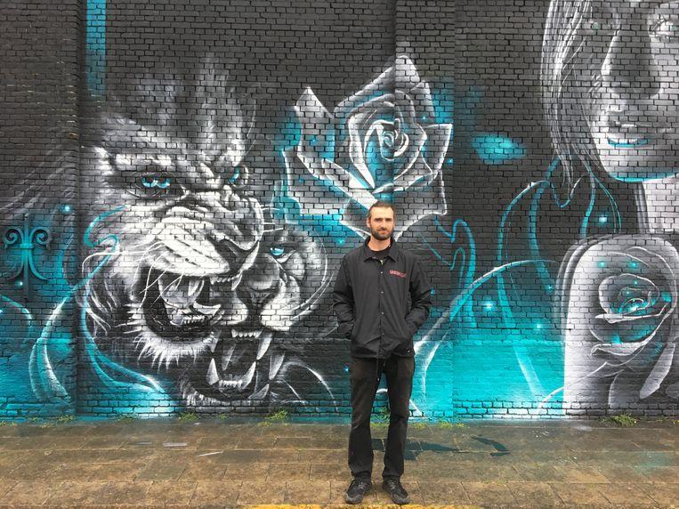 """""""Wij zijn gechoqueerd door het vandalisme"""", reageert Arno Van de Veyver, medeorganisator van het befaamde graffiti-evenement Meeting of Styles."""