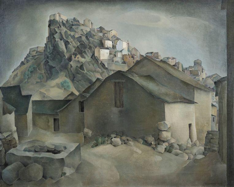 Wim Schuhmacher, Gezicht op Corte. Beeld collectie Museum MORE