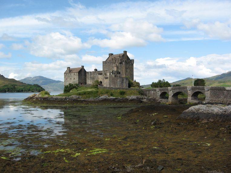 Eilean Donan Castle, het meest gefotografeerde kasteel van het land Beeld Harmen Van Dijk